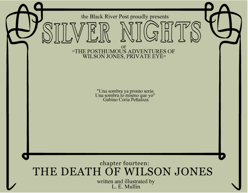 The death of Wilson Jones Cover