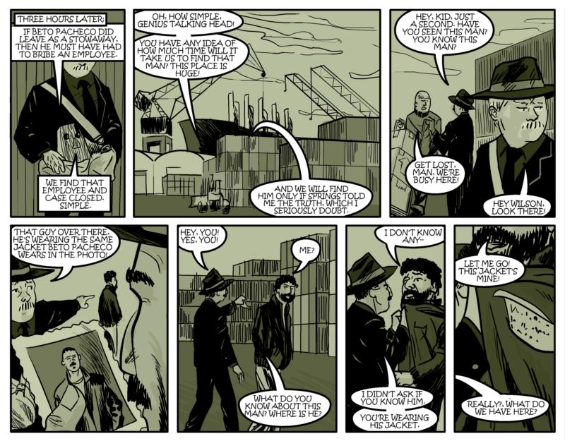 DESTROY THE EVIDENCE Page Nine