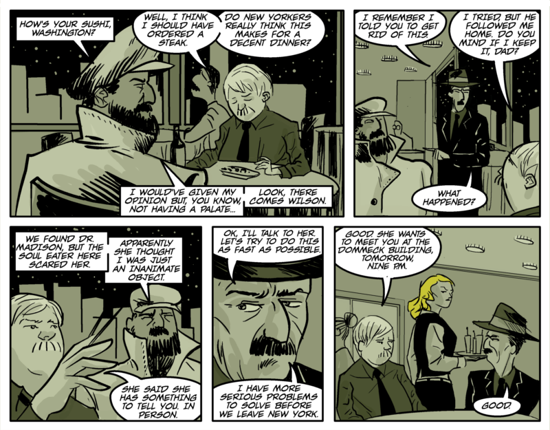 NEW YORK BLONDES Page Eight