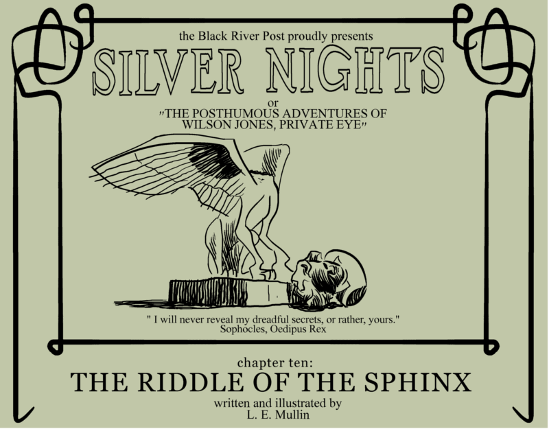 THE RIDDLE OF THE SPHINX Cover