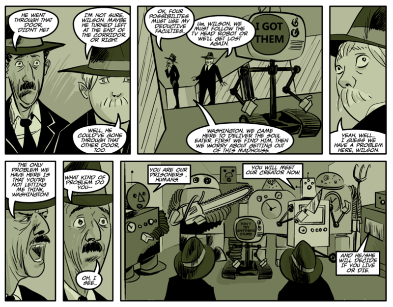 THE RIDDLE OF THE SPHINX Page six