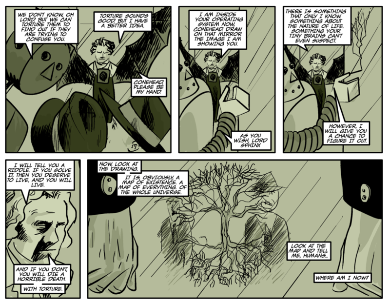 THE RIDDLE OF THE SPHINX Page eight